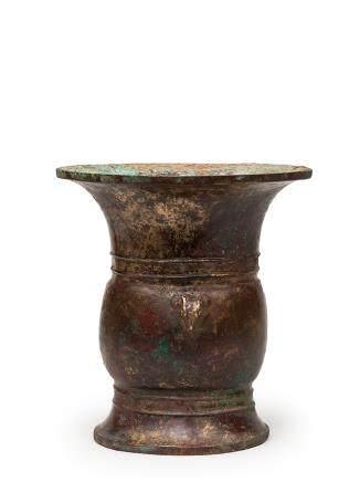 西周中期 青銅貘首尊