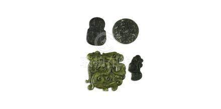 COLLECTION OF CHINESE POST REPUBLIC PERIOD SOAPSTONE CARVINGS