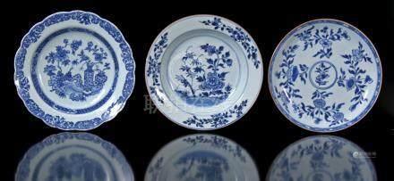Plate 3x Porcelain
