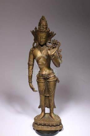 Large Sculpture of Parvati