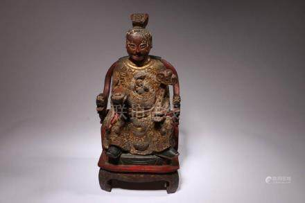 Chinese Temple Figure