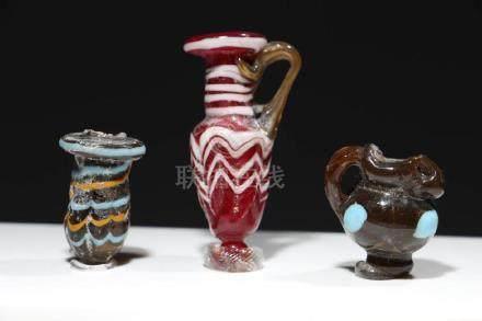 Ancient Paste Glass Pendants