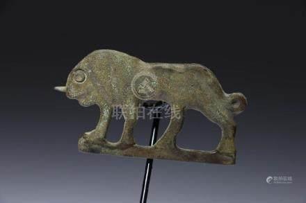 Roman Lion Fibula
