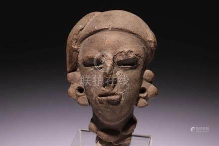 Pre-Columbian Head Fragment