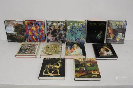Sotheby's art auction reference books, pre-1980