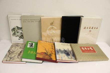 Lot of Chinese art reference books