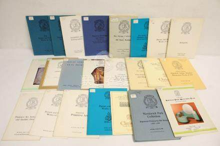 Lot of Christie's auction catalog, most pre-1980