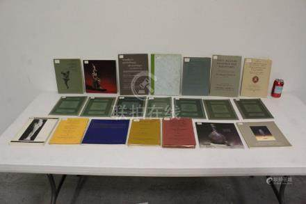 Vintage Sotheby's auction catalogs, misc. field