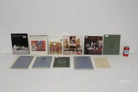 Lot of Sotheby's auction catalogs