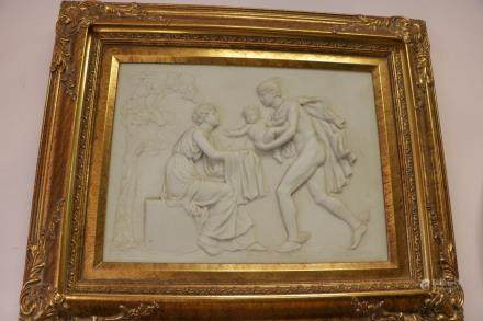 European Marble Carving on Painting