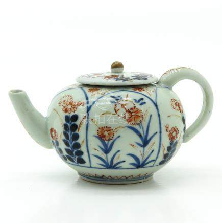 Polychrome Decor Teapot