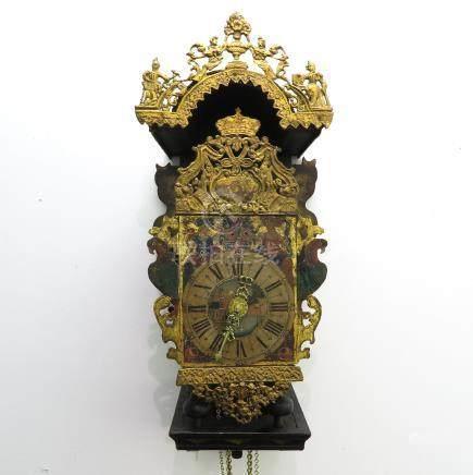 18th - 19th Century Friesland Wall Clock