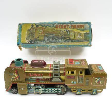Japanese Gian Train Tin Toy