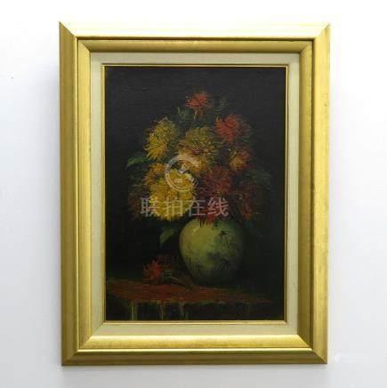 Signed A.C. van de Meer Oil on Canvas