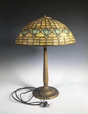Tiffany Pomegranate Table Lamp