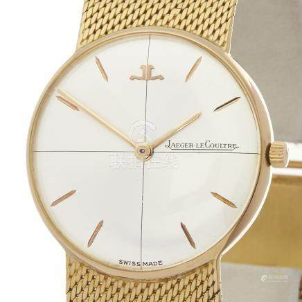 Jaeger-LeCoultre Vintage 18K Yellow Gold