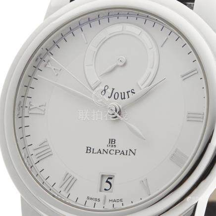 Blancpain Le Brassus 8 Days 42mm Platinum - 4213-3442-55B