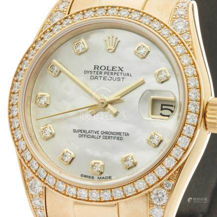 Rolex Datejust 31mm 18K Yellow Gold - 178158