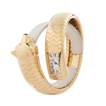 Cartier Panthère Figurative Lakarda 18K Yellow Gold - HP600186