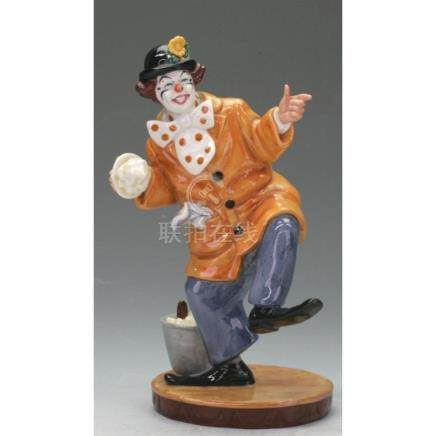 Royal Doulton Clown Figurine