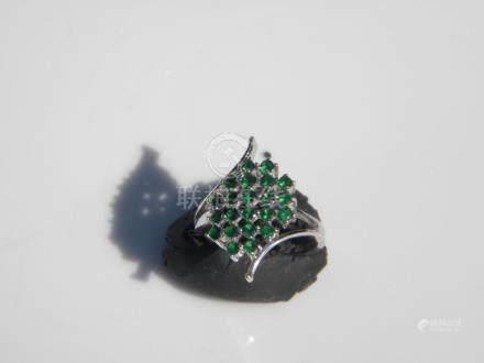 14K Gold Emerald Ring