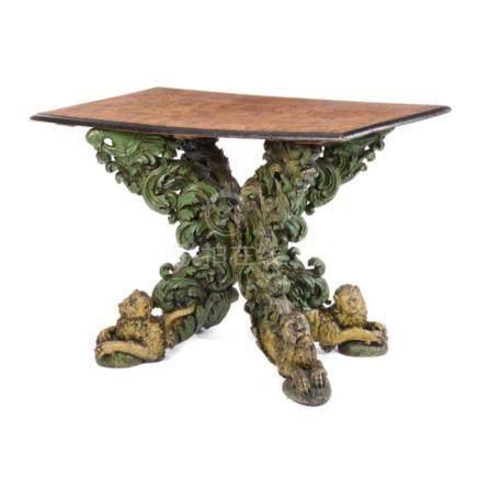 Frühbarockes Tischgestell