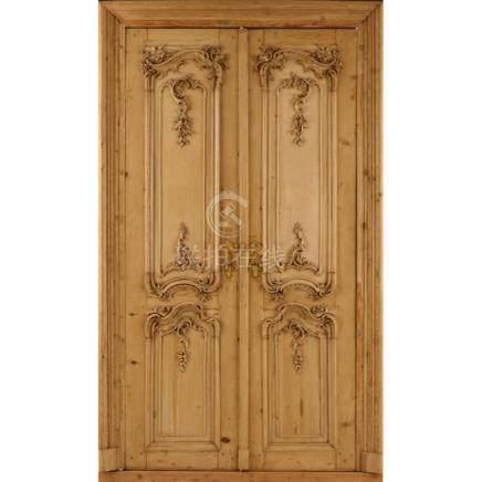 Türen aus dem Bruchsaler Schloß