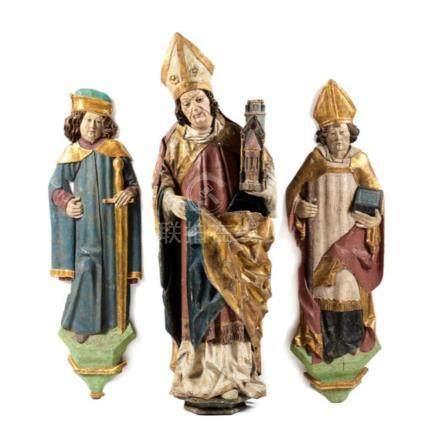 Schnitzfigurengruppe