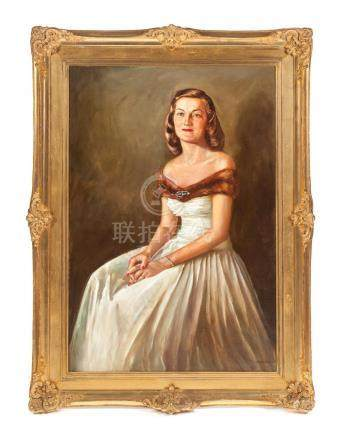 PORTRAIT BY K. DOYLE FORD (AMERICAN, 1910-1993).