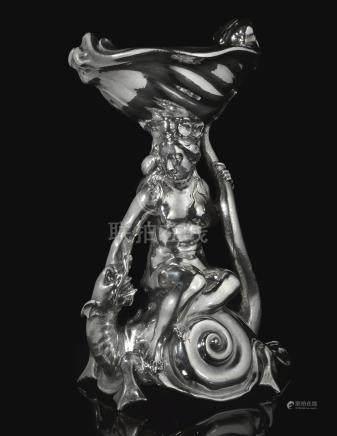 Galatea and the Sea Monster. A Dutch silver salt, Adam van Vianen, Utrecht, 1624