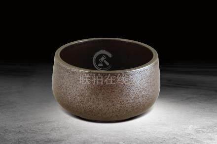 明  醬釉瓷缽