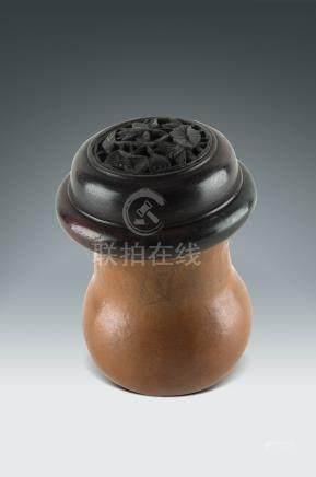 清  葫蘆蟲鳴罐
