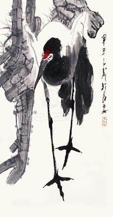 王子武   鶴