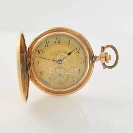 AUDEMARS FRERES 14k pink gold pocket watch