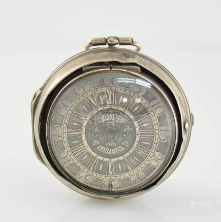 RODET London verge watch in silver