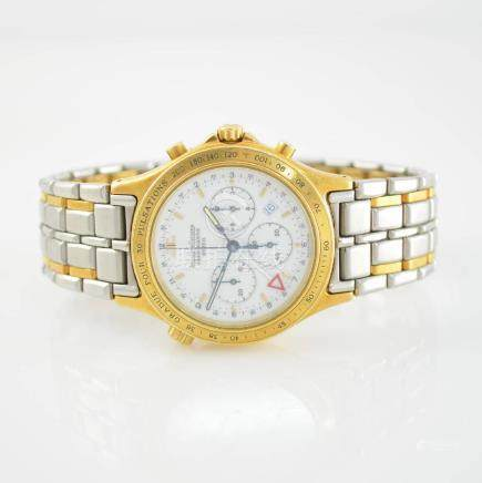 Jaeger-LeCoultre alarm wristwatch with chronograph