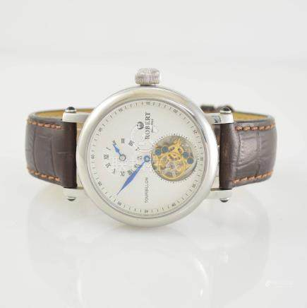 ROBERT gents wristwatch with 1 minute Tourbillon