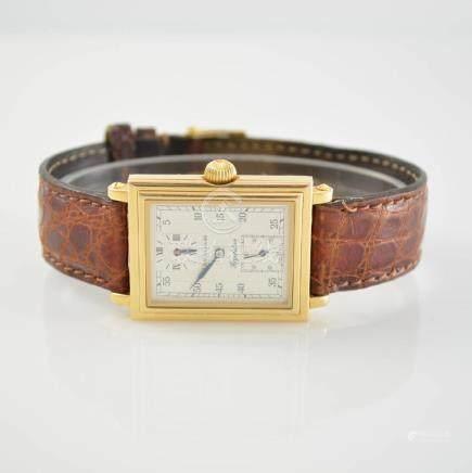 CHRONOSWISS rare 18k pink gold gents wristwatch