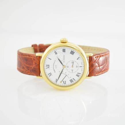 EBERHARD & Co. rare 18k yellow gold gents wristwatch