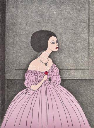 JOHN BRACK 1920-1999 La Traviata 1981 lithograph on paper 66