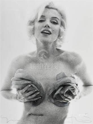 BERT STERN 1929-2013 Marilyn Monroe, Roses, Last Sitting 196