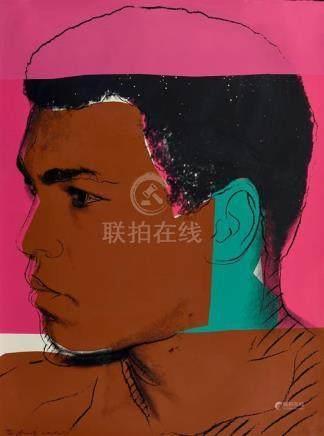 ANDY WARHOL 1928-1987 Muhammad Ali (1978) screenprint on pap