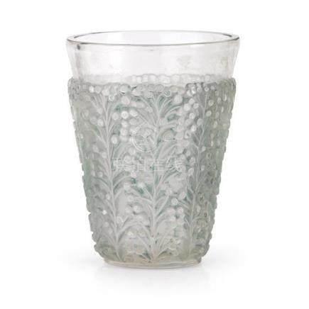 A René Lalique 'Saint Tropez' vase, no. 10-915, designed 193