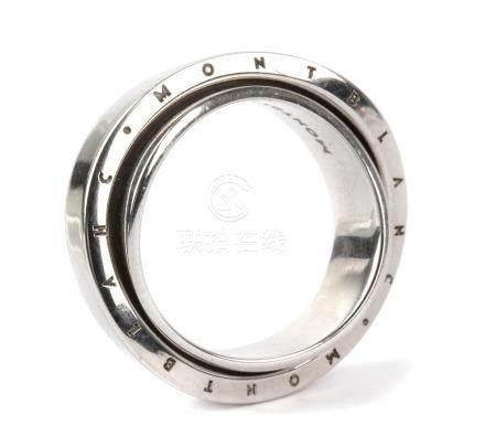 Montblanc. Silver ring
