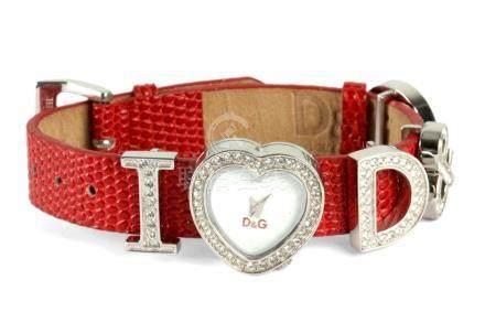 Dolce & Gabbana. I love D&G ladies wristwatch