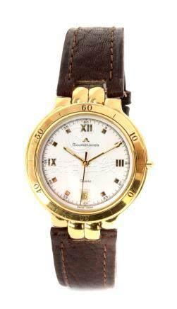 Maurice Lacroix. Gold-plated Gentlemen's wristwatch