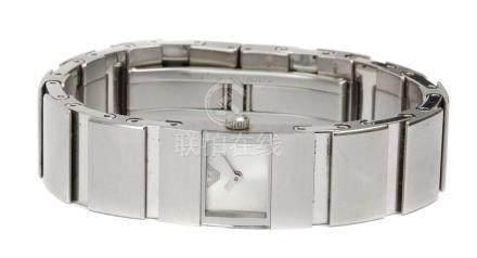Emporio Armani, steel ladies wristwatch