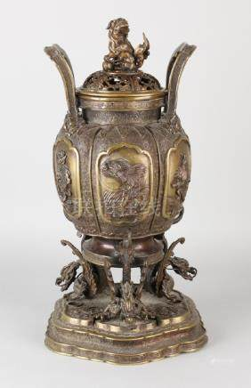 Beautiful large 19th century Chinese incense burner