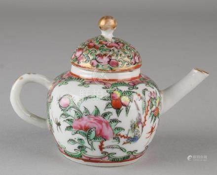 18th Century Small Family Rose Chinese porcelain jars