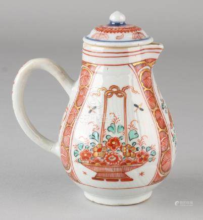 18th Century Chinese porcelain Amsterdam pied chicken